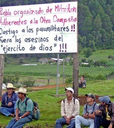 Es Chiapas la entidad con más ataques a defensores de derechos humanos en sexenio peñista