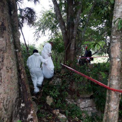 Hallan cuerpo decapitado, al parecer de una mujer, en una comunidad de Othón P. Blanco