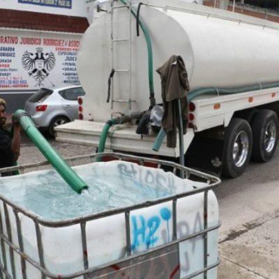 Empieza el 'megacorte' de agua potable en la CDMX; durará tres días y costaría 30 millones de pesos