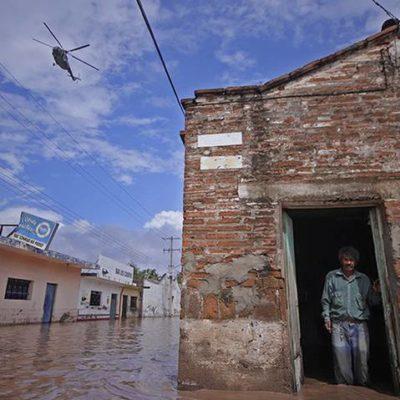 Ignora Segob declaratoria de desastre para el estado, denuncia gobierno de Nayarit
