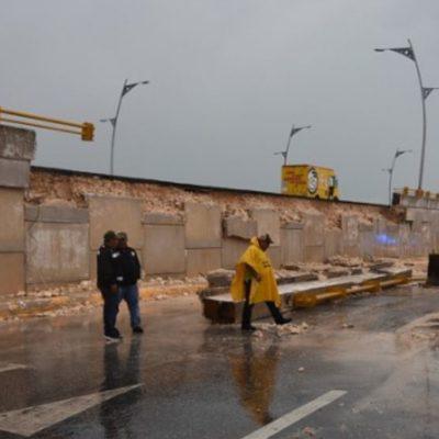 Achacan deterioro de autopista Campeche-Mérida a lluvias atípicas; usuarios exigen repararla