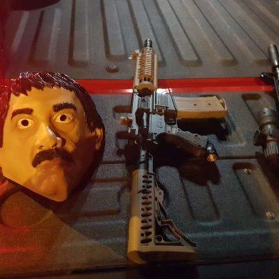 Se disfrazan jóvenes de 'El Chapo' y son detenidos en Culiacán, Sinaloa
