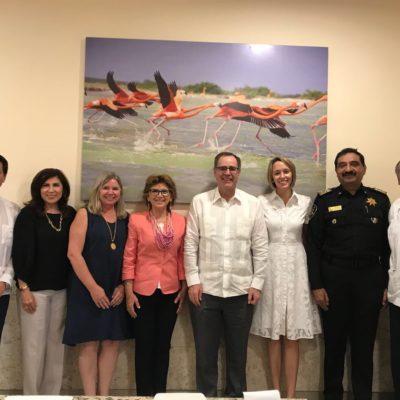ENCARGADO DE NEGOCIOS DE EU LE TOMA EL 'PULSO' A LA PENÍNSULA: Se reúne John Creamer en Yucatán con autoridades, empresarios y activistas