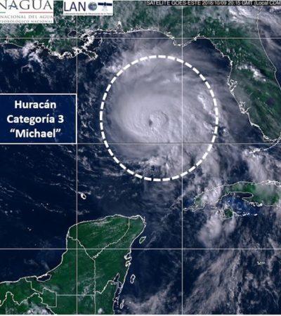 'MICHAEL' SE FORTALECE A HURACÁN CATEGORÍA 3: Alerta en Florida por aproximación del ciclón que puede causar importantes daños