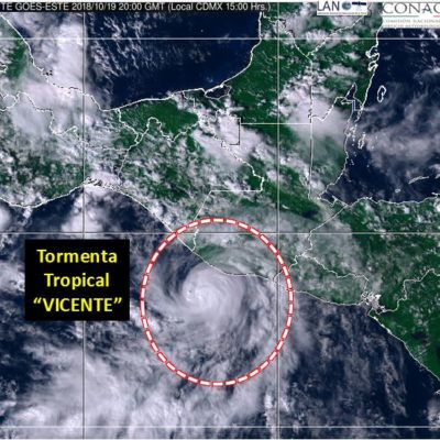 Saldo de 11 muertos por la tormenta tropical 'Vicente' en Oaxaca