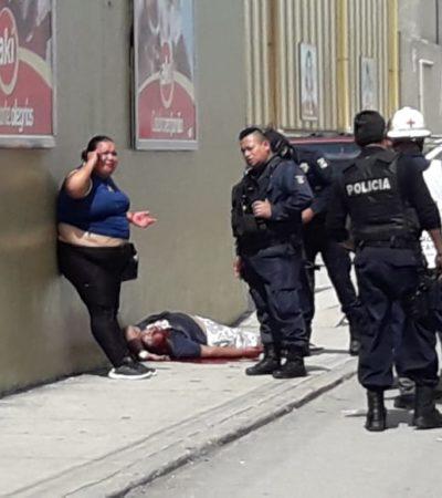 PEGA VIOLENCIA A INOCENTES EN CANCÚN: Ejecutan a persona en 'El Crucero' y niño de 10 años resulta herido por bala perdida