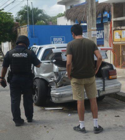 ¿NOCHE DE COPAS… CON SUERTE?: Se embriaga y despierta encajuelado en Playa del Carmen