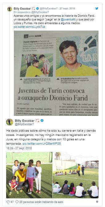 Dijo jugar en la Juventus de Italia, firmó autógrafos, cobró por dar pláticas… y era mentira