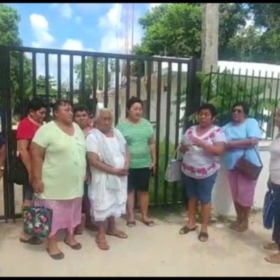 NI LA VIRGEN LES HIZO EL MILAGRITO: Creyentes se presentaron en la CFE para reclamar por el incremento de tarifa en iglesia La Guadalupana de Dziuché