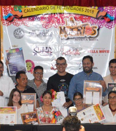 Preparan más de ocho actividades para celebrar el Día de los Muertos en Solidaridad