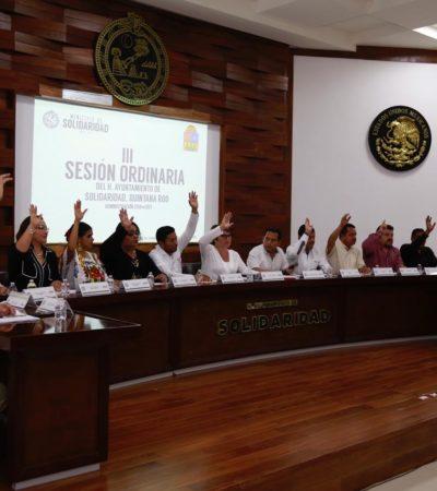 Aprueba Cabildo de Solidaridad hasta 100% de descuento en multas y recargos durante noviembre