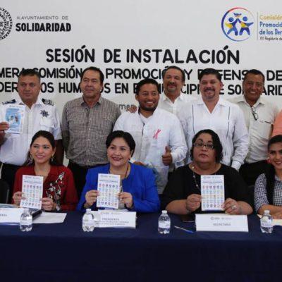Se instala la Comisión de Promoción y Defensa de los Derechos Humanos en el Cabildo de Solidaridad