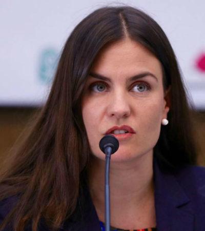 Repetirá Alexandra Haas Paciuc en el Conapred durante gobierno de AMLO