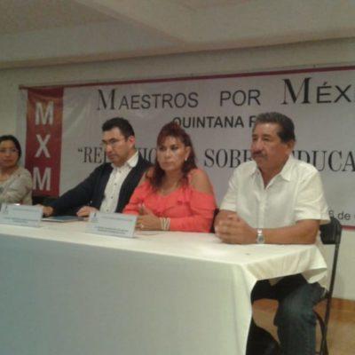 """Con la reforma educativa se tiró mucho dinero"", dice Florentino Balam"