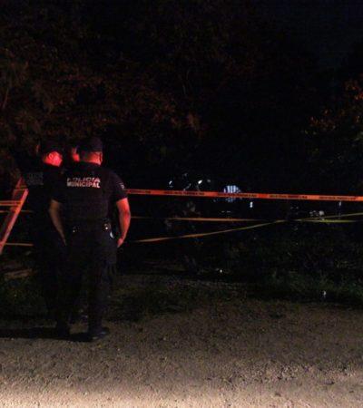 Asesinan a mujer a orillas del Cenote Cristalino en Puerto Aventuras