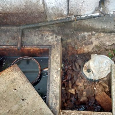 Denuncian grave estado de contaminación bajo el panteón Los Olivos que la administración de Remberto ocultó