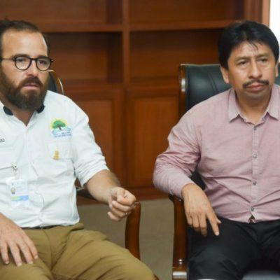 Gobierno de Víctor Mas se compromete a resolver el problema del drenaje en Tulum