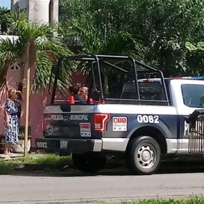 Asaltan a mujer de la tercera edad frente a su casa, en Chetumal