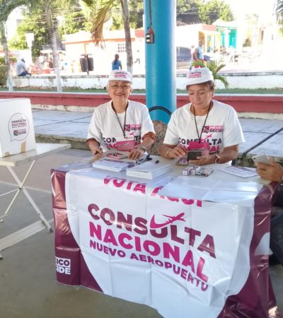 Con desinterés ciudadano, Quintana Roo recibe la consulta
