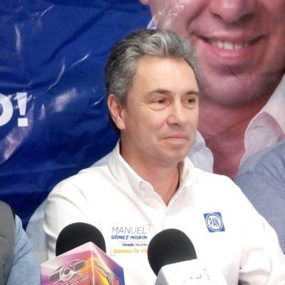 """""""Si hay consulta para el Aeropuerto, debería haber también para el Tren Maya"""", dice el panista Gómez Morín"""