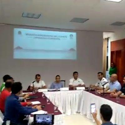 Pide a ciudadanos seguir recomendaciones oficiales ante temporal en Quintana Roo