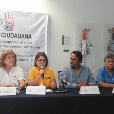 Solicitan a Carlos Joaquín la creación de un Instituto para la inclusión de personas con discapacidad