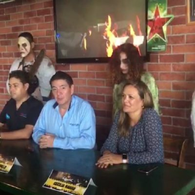 Para diversificar actividades en Cancún, anuncian fiesta de Halloween en Ventura Park