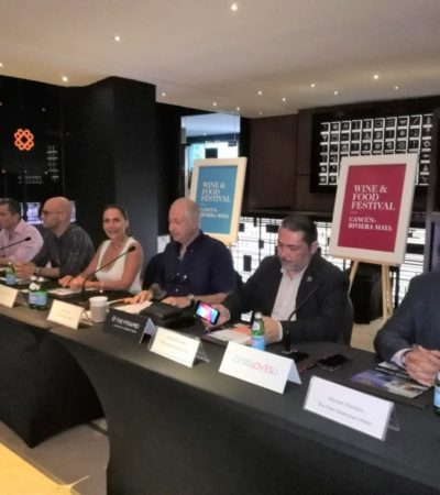 Anuncian el Wine and Food Festival en la Riviera Maya con la participación de los mejores chefs nacionales e internacionales