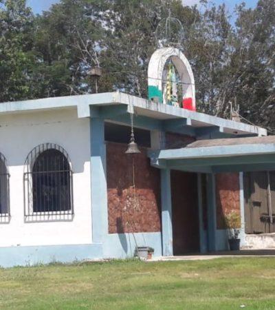 Mientras oficiaban misa, sujeto se sube a techo de una iglesia para robar cableado en JMM