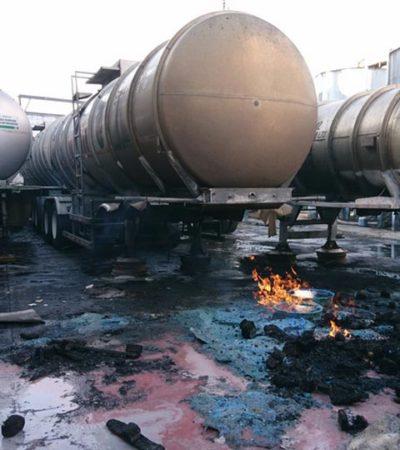 VIDEO   Sofocan incendio originado por explosión en fábrica de alcohol en la CDMX