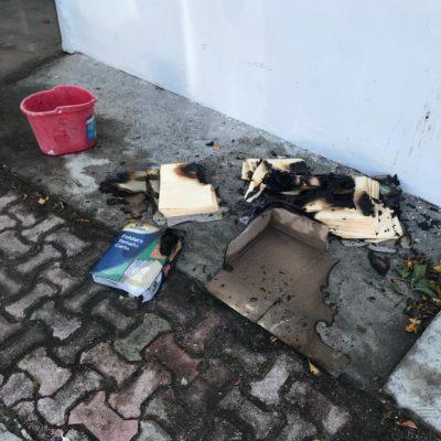 Se queman archivos oficiales en Solidaridad