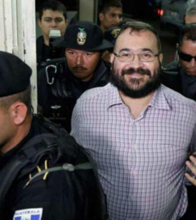Exige Javier Duarte a senador respetar su presunción de inocencia, aún cuando ya está sentenciado