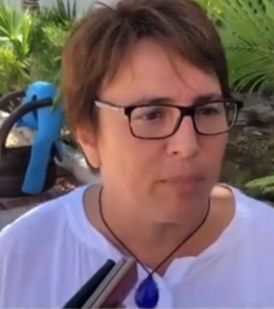 Asegura Laura Beristain que en el primer pago de la quincena detectaron a cientos de supuestos 'aviadores' dejados por Cristina Torres