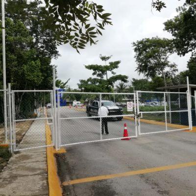 Hospitalizan a hijo de ex edil Filiberto Martínez por accidente en preparatoria La Salle de Playa del Carmen