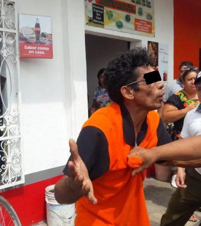 Atrapan a supuesto ladrón de deportistas en Cozumel