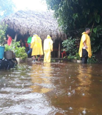 Suspenden clases en zonas de Chiapas por lluvias torrenciales; presa el Portillo a su máximo nivel