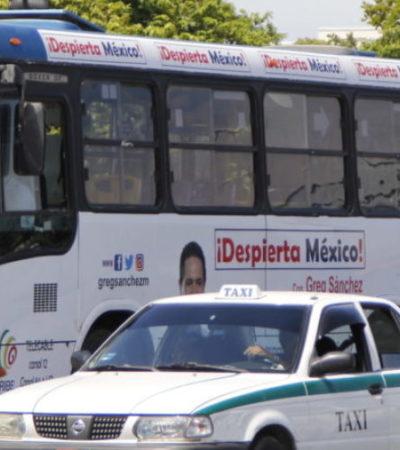 Sin definición para el transporte público, admite Mara Lezama