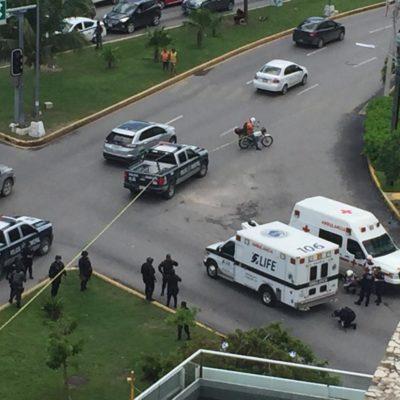BALAZOS Y 'KARMA' INSTANTÁNEO EN MALECÓN AMÉRICAS: Muere pistolero arrollado tras disparar contra un hombre en presunto intento de asalto en Cancún