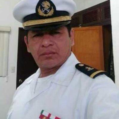 Trasladan cuerpo de marino campechano a Ciudad del Carmen; murió al caer su helicóptero al mar