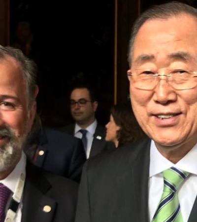 Servirá Meade al Gobierno del Reino Unido de Holanda como integrante de la Comisión Global de Adaptación al cambio climático