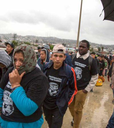 Ofrecerán la Segob y el gobierno de Chiapas empleo temporal a migrantes en tanto regularizan situación