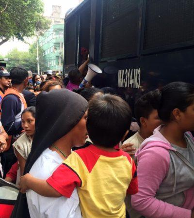 Impedirán entrada a Chiapas de la Caravana Migrante que salió de Honduras con destino a EU