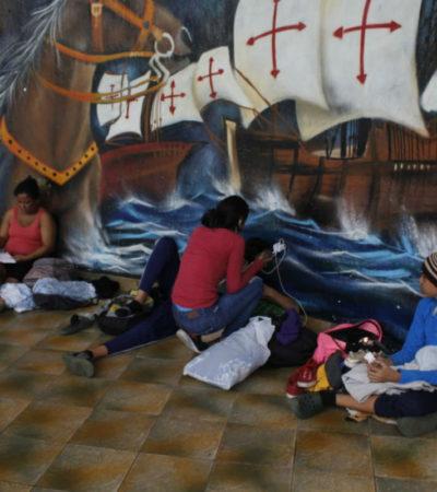 Muestran ONG y autoridades de Chiapas mejor cara a migrantes hondureños que el Gobierno Federal