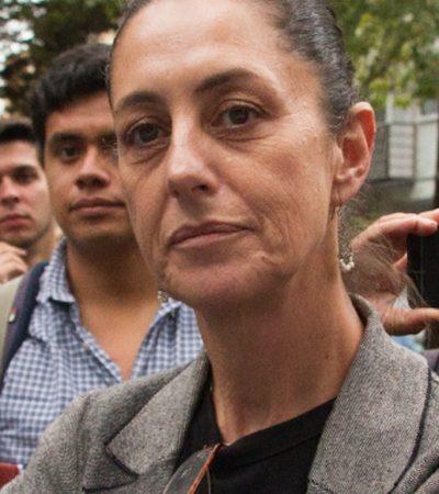 'Muerden' a Claudia Sheinbaum, próxima jefa de gobierno de la CDMX, en verificentro