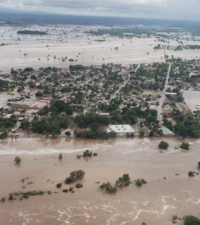 Afecta a Nayarit paso de 'Willa'; ALMO comparte imagen de un río desbordado