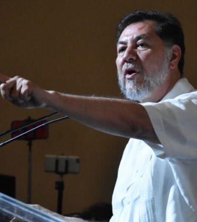 Fustiga Fenández Noroña a Yunes Linares; debe estar en la cárcel, dice, y lo compara con Javier Duarte