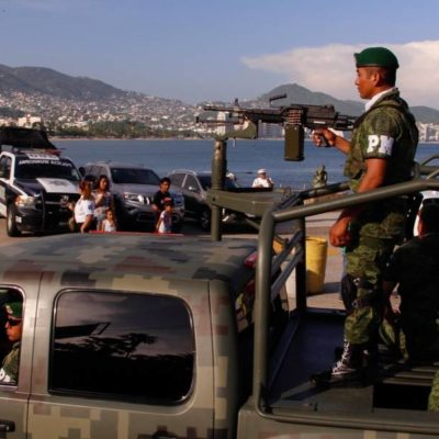 Entran al quite casi diez mil militares al mes; cubren incapacidad de policías contra el crimen organizado