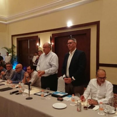 Conrad Bergwerf asume la presidencia de la Asociación de Hoteles de la Riviera Maya y se compromete a exigir al gobierno seguridad, responsabilidad en el tema del sargazo y mayor promoción turística