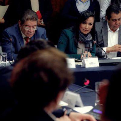 Solicita Laura Fernández al Senado presupuestos justos para los municipios del país