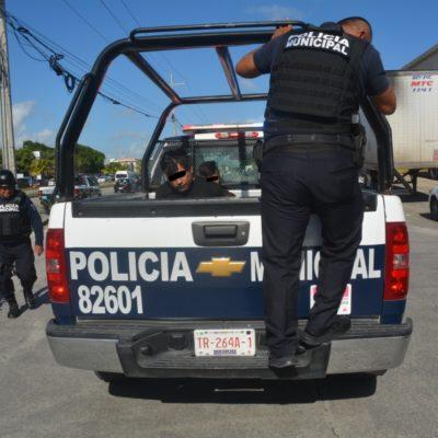 Persecución por supuesto levantón en Playa del Carmen terminó en falsa alarma